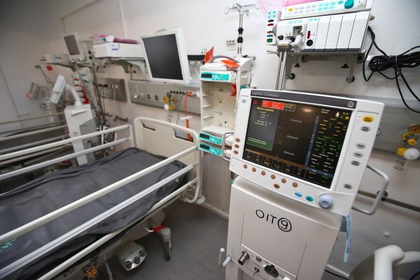 Oddział intensywnej opieki medycznej dla chorych na COVID-19 we Wrocławiu