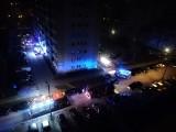 Tragiczny weekend w Pabianicach. Śmiertelny pożar i samobójstwo młodego mężczyzny. Ewakuacja ponad setki lokatorów wieżowca