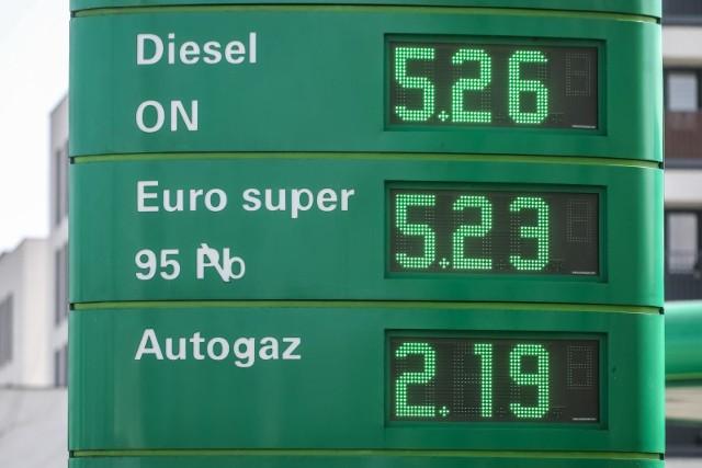 Ceny na stacjach podlegają ciągłym wahaniom i jest to związane przede wszystkim ze zmianami cen hurtowych.