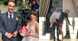 Ślub Karoliny MAŁYSZ z Kamilem Czyżem. Na hucznym weselu w Szczyrku bawiła się Justyna Żyła ZDJĘCIA