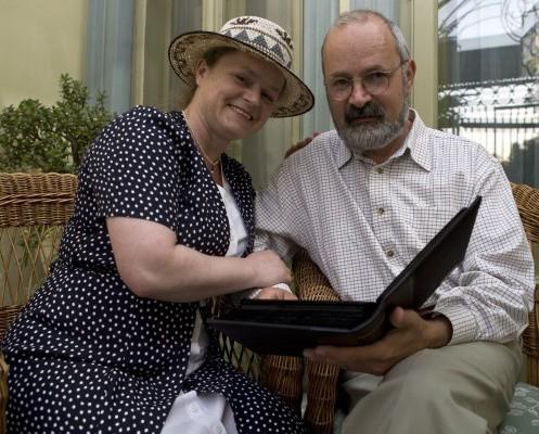 Teresa i Wrzesław Żurawscy regularnie zatrzymują w kadrach ulotne, rodzinne chwile.