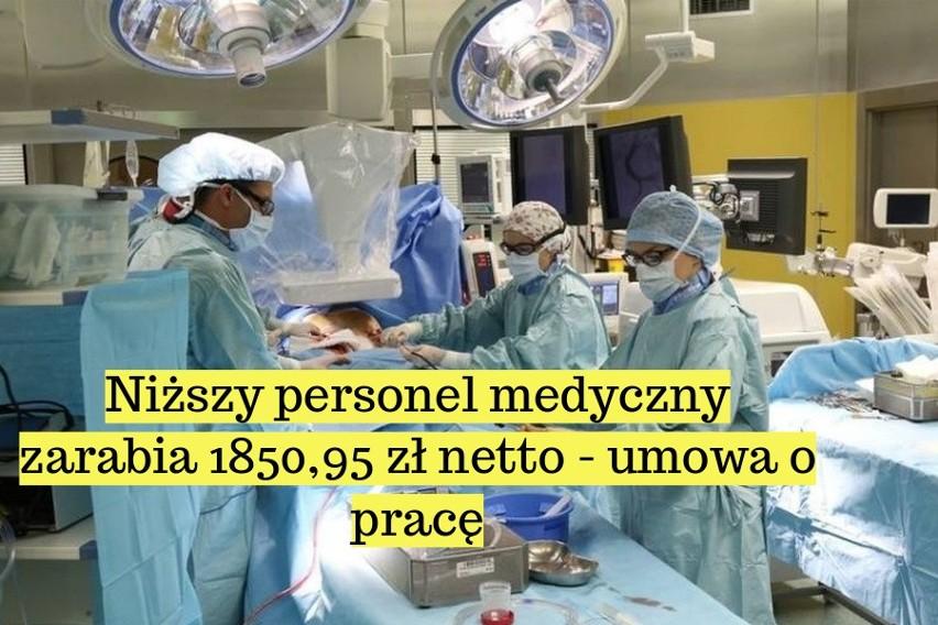 Tak zarabiają lekarze i pielęgniarki w polskim szpitalu. Zobacz najnowsze stawki!