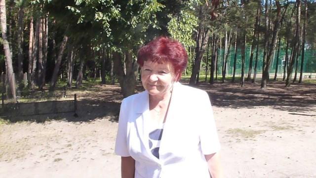Czesława Knypińska – sołtyska wsi Janikowo Dolne