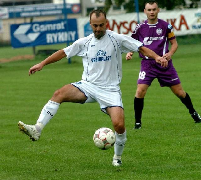 Grzegorz Gierczak do tej pory cieszył swoją grą Żurawiankę.