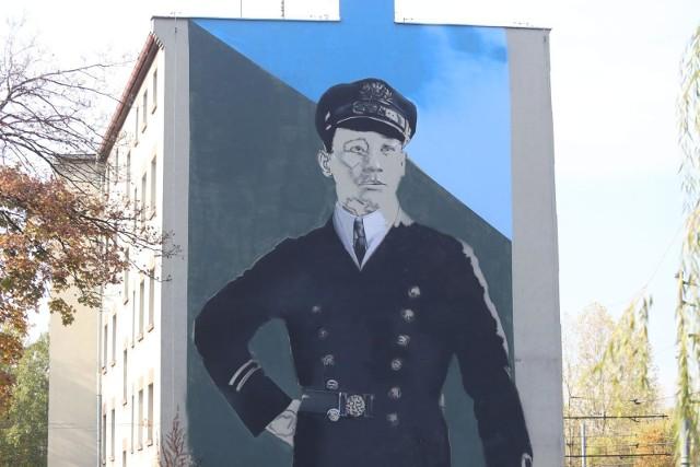 Mural Kutza w Szopienicach