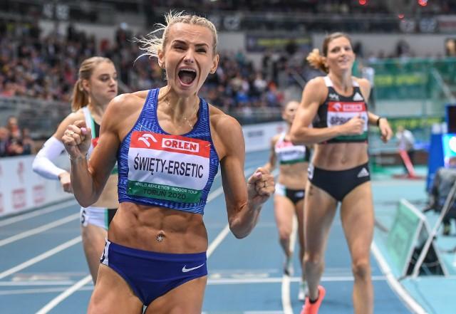 Justyna Święty-Ersetic liczy, że swój świetny sezon halowy zakończy złotym medalem Halowych Mistrzostw Polski w Toruniu