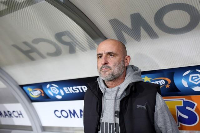 Trener Michał Probierz