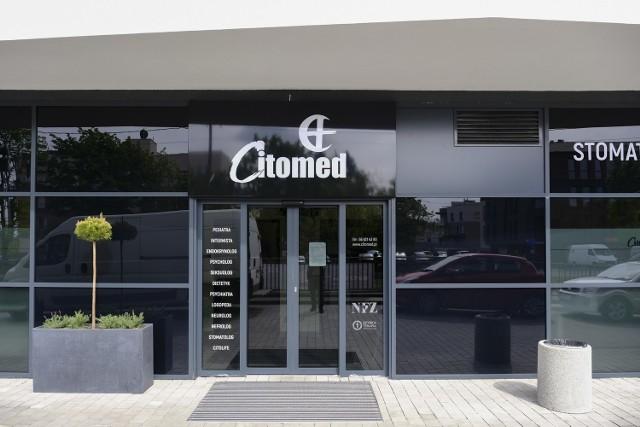 Zaglądamy do środka nowej przychodni Citomed w Toruniu