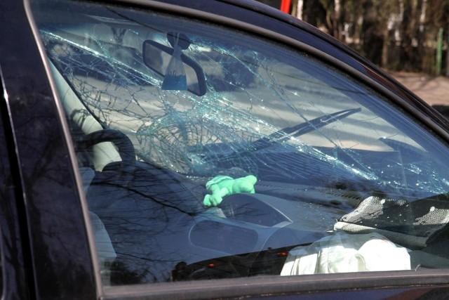 Wypadek na ul. Nad Torem wydarzył się w niedzielę wieczorem.