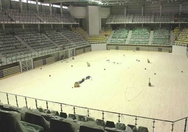 Koszty budowy nowej hali w Zielonej Górze Totalizator Sportowy finansuje w około 10 procentach. To daje w sumie około 15 mln złotych!