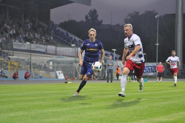 Stomil Olsztyn pokonał Podbeskidzie w 90. minucie spotkania. Wynik 1:0.