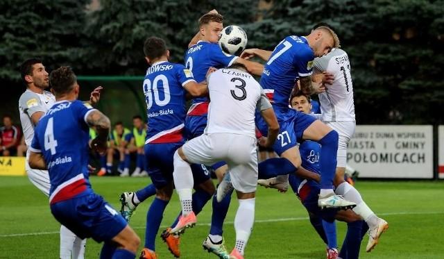 Podbeskidzie Bielsko-Biała -  ŁKS Łódź 0:3 Wojciech Fabisiak nie był bez winy przy pierwszej bramce