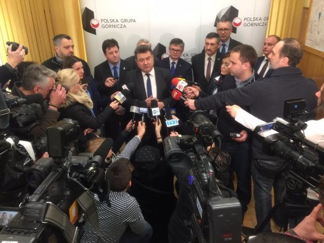 - Ostatnie trzy miesiące były dobrymi dla Polskiej Grupy Górniczej - mówił o ostatnich wynikach finansowych PGG Grzegorz Tobiszowski, wiceminister ds. energii