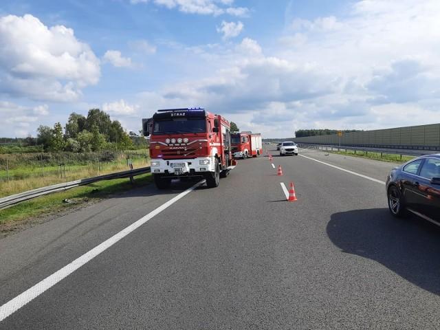 Wypadek na trasie Gniezno-Bydgoszcz