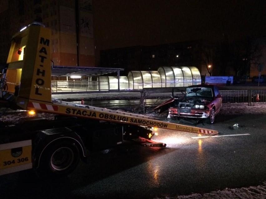 Śmiertelny wypadek na alei Grzecznarowskiego w Radomiu.