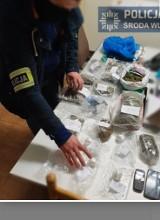 Producent narkotyków ze Środy Wielkopolskiej aresztowany - policja znalazła marihuanę, z której można przygotować 4 tysiące porcji
