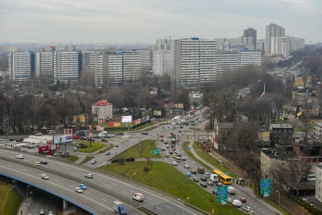 Ulica Chorzowska w Katowicach