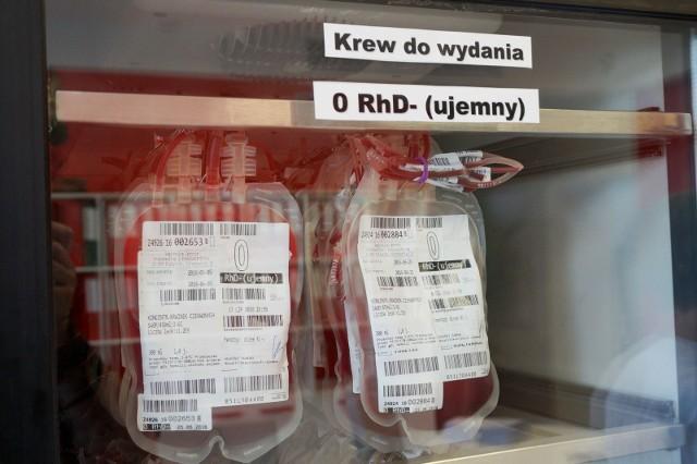 Regionalne Centrum Krwiodawstwa i Krwiolecznictwa w Białymstoku apeluje o oddawanie krwi.