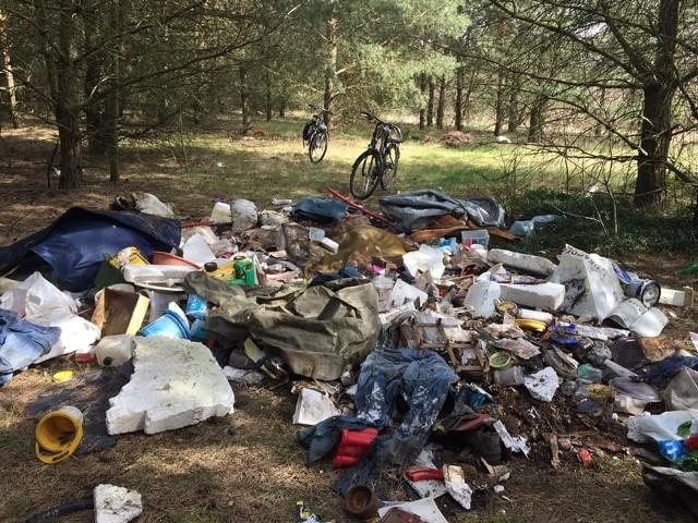 Takie widoki to niestety w lubuskich lasach wciąż jeszcze zbyt częste zjawisko. Usuwanie nielegalnych wysypisk jest drogie i czasochłonne, a śmieci zagrażają ludziom i przyrodzie.