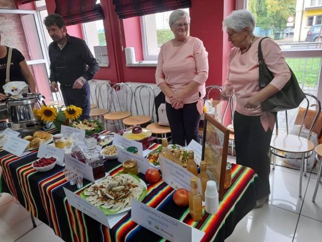 Częścią Europejskich Dni Dziedzictwa była degustacja nagrodzonych tradycyjnych produktów.