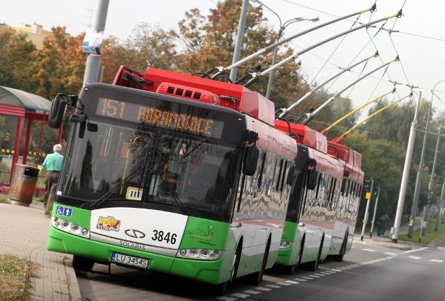 Trolejbusy jeżdżą m.in. w Lublinie. Czy na ulicach Łodzi też pojawią się takie pojazdy?