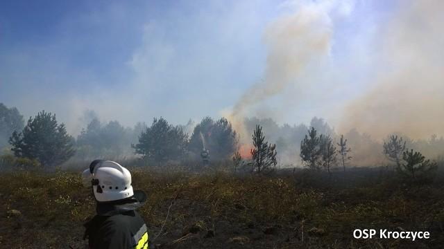 Pożar w Hucisku