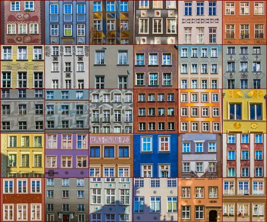 Gdańsk jest coraz piękniejszy. Kolejne elewacje kamienic...