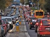 Strajk samochodowy w Koszalinie. Godzinny przejazd miastem w ramach protestu ZDJĘCIA