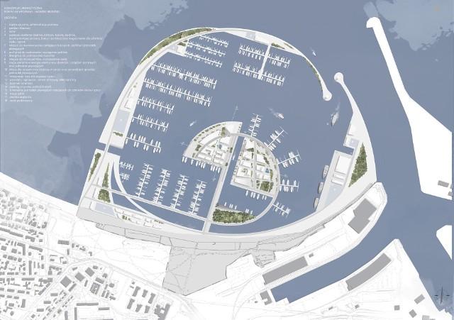 I nagroda za koncepcję Centralnego Portu Jachtowego w Gdańsku Brzeźnie.