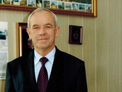 Stanisław Syguła,  prezes, sponsor i wielki sympatyk Sokoła.