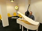 W studiu KontraBas w Centrum  Kultury i Sztuki w Sępólnie jak na kameralnym jazzowym koncercie [zdjęcia]