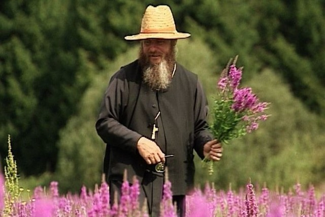 Kadr z filmu Archimandryta