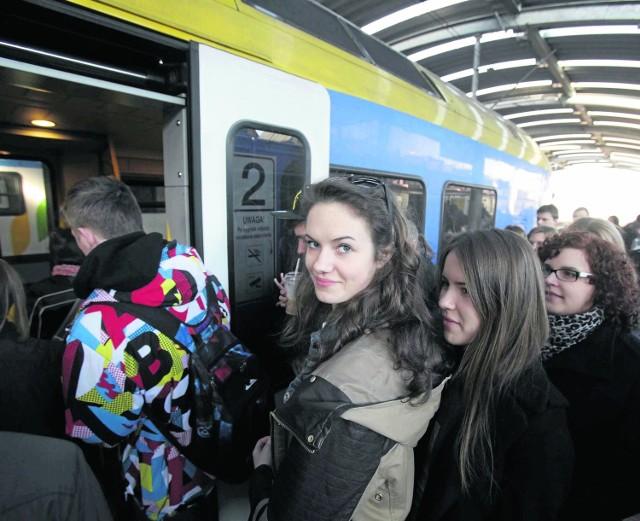 Wszystkie pociągi odjechały zgodnie z planem
