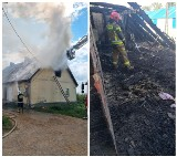 Mściszewo. Pożar strawił dom ośmioosobowej rodziny. Gmina chce uruchomić zbiórkę pieniędzy