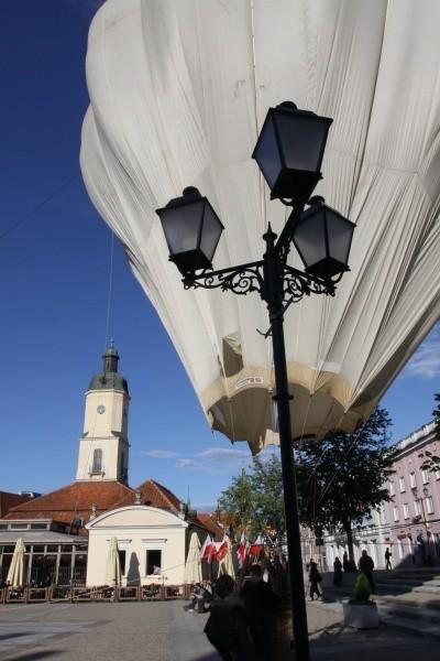 - Ten balon wzniósł się ponad podziałami - powiedział po wyjściu z kosza Tadesz Arłukowicz.
