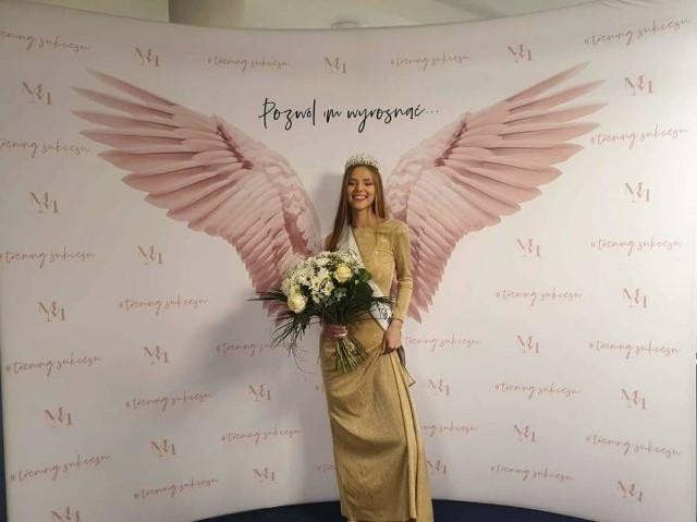 Magdalena Chrzanowska z okolic Włocławka została drugą wice Miss Polski Nastolatek 2020