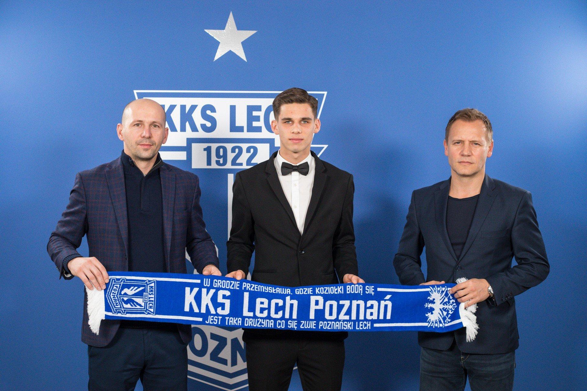 Lech Poznań: Filip Marchwiński podpisał nowy kontrakt | Gol24