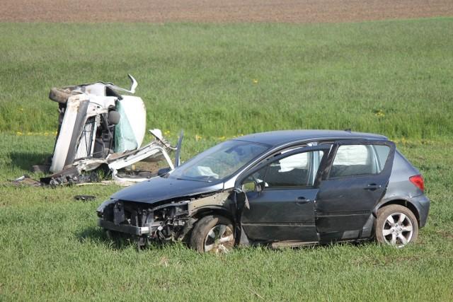 Wypadek maturzystów pod Bożacinem