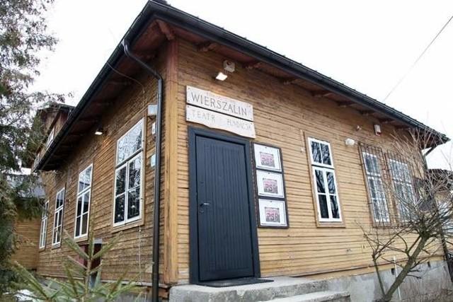 Budynek teatru Wierszalin.