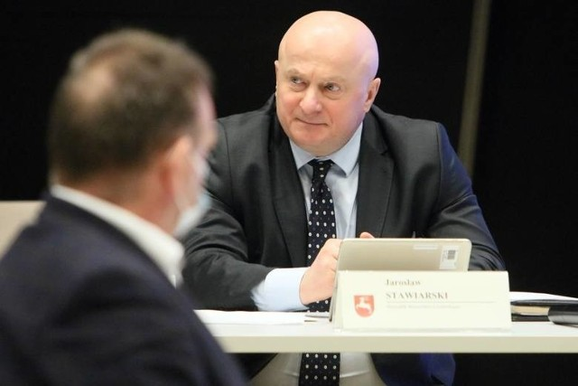 Poprzedniego dyrektora szpitala w Radecznicy zarząd województwa na czele z marszałkiem Jarosławem Stawiarskim (na zdjęciu) odwołał z powodu nieprawidłowości