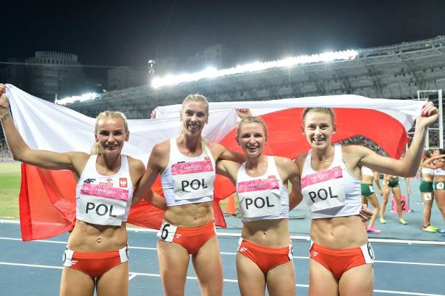 Żeńska sztafeta 4x400 metrów zdobyła ostatni z dwudziestu pięciu polskich medali na 29. Letniej Uniwersjadzie w Tajpej