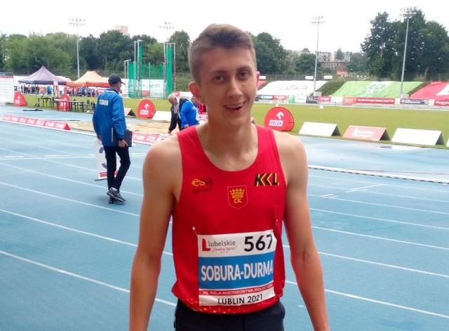 Jakub Sobura-Durma został mistrzem Polski juniorów.