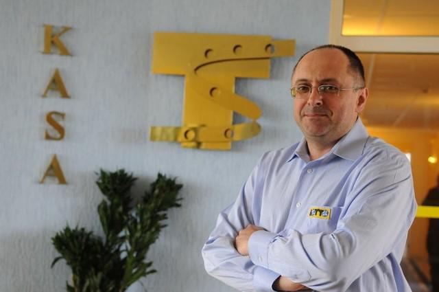 Grzegorz Sakowski, kierownik regionu sprzedaży zielonogórskiego oddziału Totalizatora Sportowego