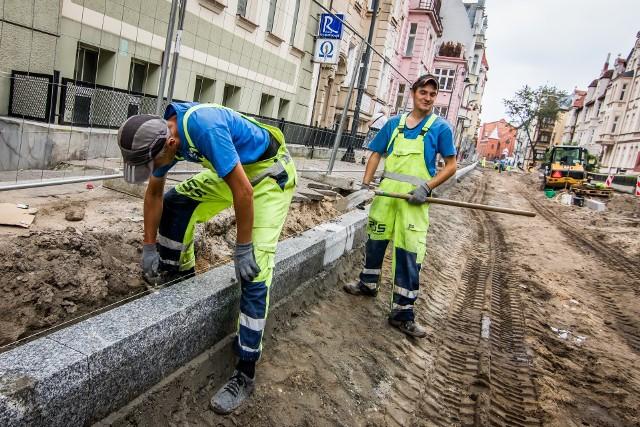 Większość remontów na bydgoskich ulicach już za nami. Do końca sezonu budowlanego ma być skończona jeszcze m.in. Cieszkowskiego.