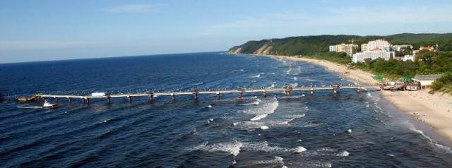 Od Świnoujścia aż po Jarosławiec możemy bezpiecznie wchodzić do morza i zażywać w nim kąpieli.
