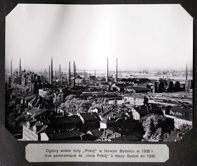 Tak wyglądała Huta Pokój przed II wojną światową.Zobacz kolejne zdjęcia. Przesuwaj zdjęcia w prawo - naciśnij strzałkę lub przycisk NASTĘPNE