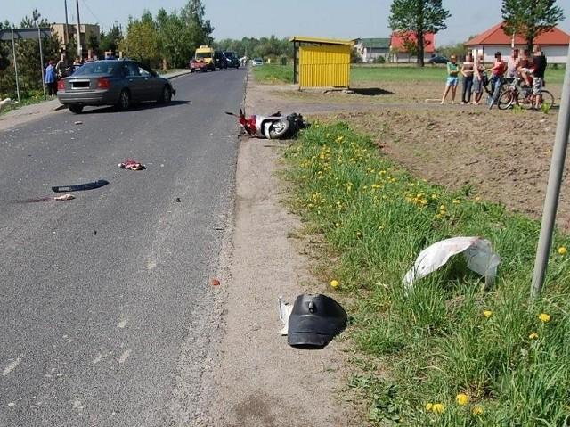 40-letnia kobieta poniosła śmierć na miejscu