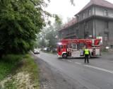 Pożar szpitala w Orzeszu. Przyczyna nie jest znana [NOWE ZDJĘCIA]