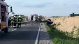 Śmiertelny wypadek na krajowej 5 w Wąsoszu (powiat nakielski). Jedna osoba zginęła [zdjęcia]