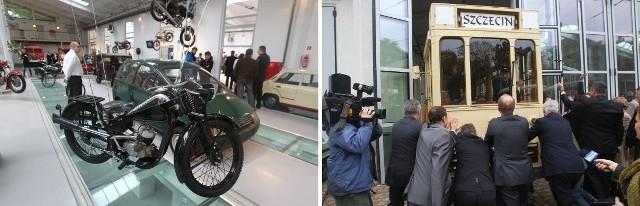 Oficjele musieli pchać tramwaj, przed otwarciem muzeum